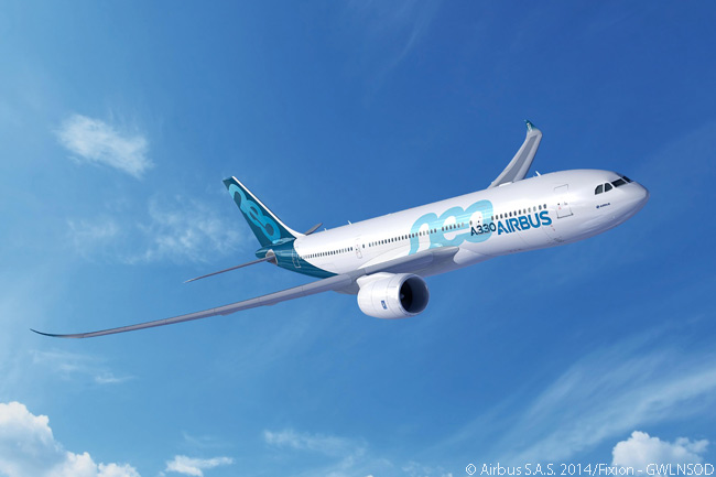 The Airbus A330-800neo is a re-engined, aerodynamically refined version of the A330-200 and its optimized cabin allows it to carry up to six more passengers in three-class configuration than the A330-200. Its typical three-class capacity is 252 passengers and the A330-800neo also flies up to 400 nautical miles farther than its direct predecessor, giving the  aircraft a maximum range of 7,600 nautical miles with a full load